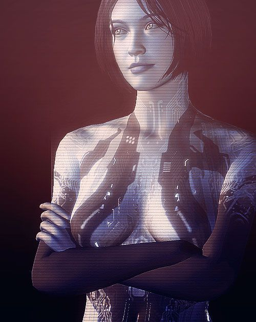 """Fortunately for both of us...I LIKE crazy."" - Cortana ..."