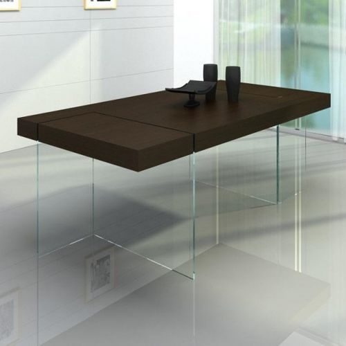 Aura Modern Floating Dining Table By VIG Furniture   All World Furniture