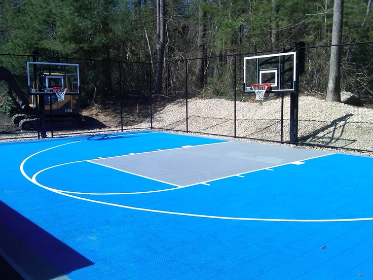 Lakeville Ma Versacourt Basketball Courts In 2019
