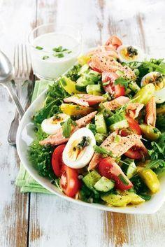 Savukalasalaatti ja yrttikastike | K-Ruoka