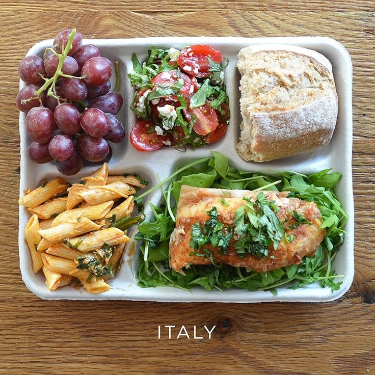 Nutritious, organic and sustainably grown school lunches are served every day in Rome, Italy. Photo credit: Food and Wine