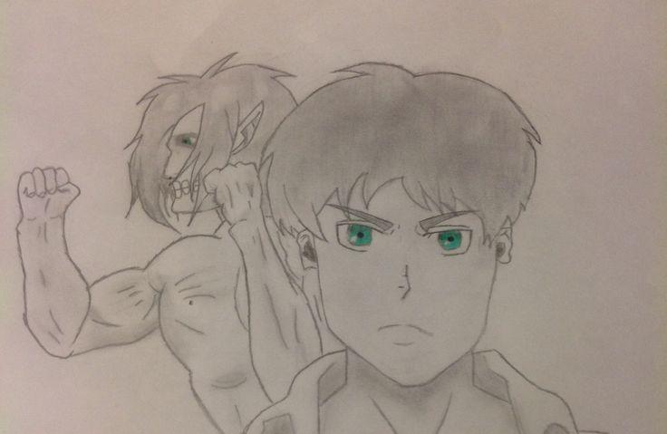 Eren and his titan form