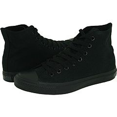 My love for flat black Chucks is really strong.