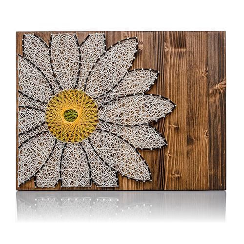 Best 25 do it yourself kit ideas on pinterest design girl hand white daisy string art do it yourself kit solutioingenieria Image collections