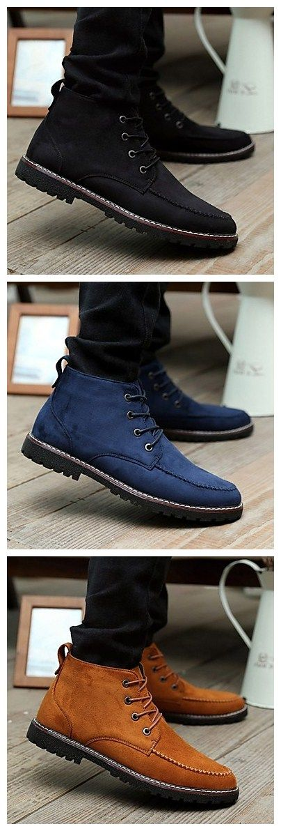 Men's Casual Leather Fashion Sneakers