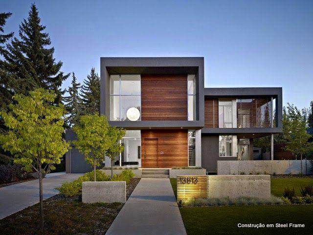 casas em steel frame em EUS - Pesquisa Google