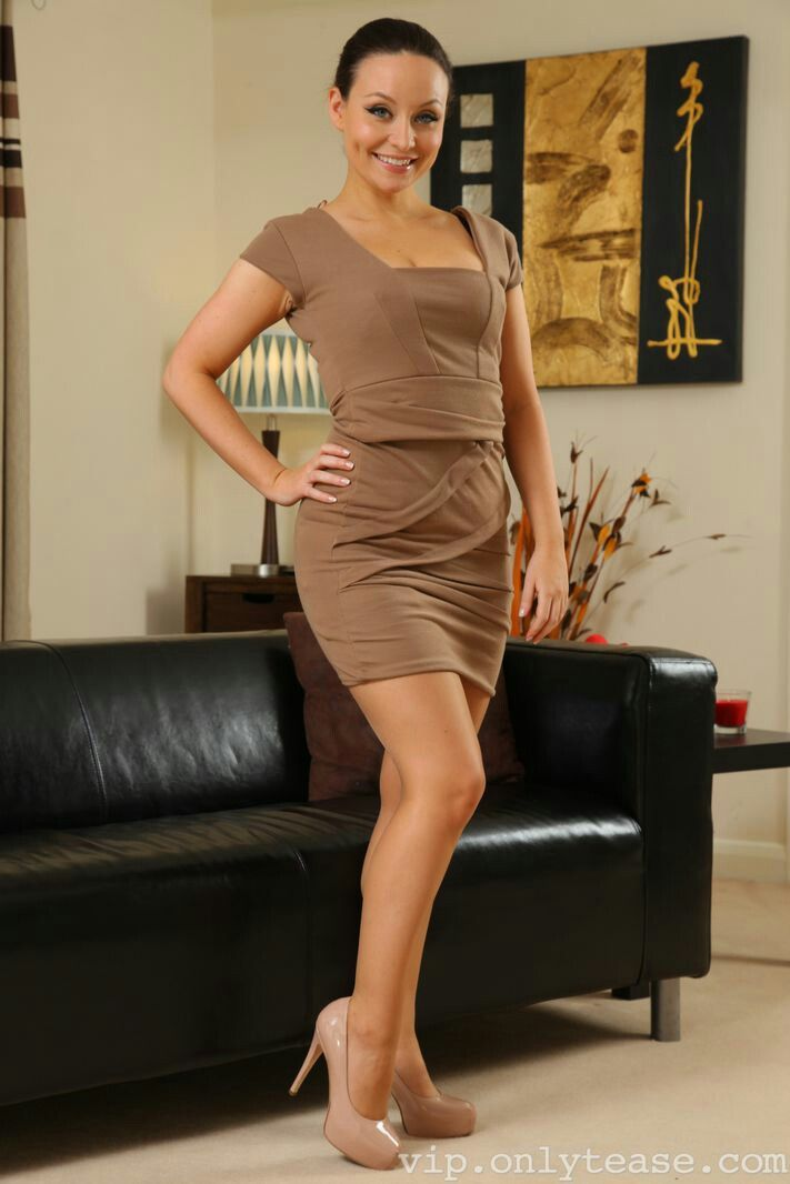 Vip carla brown in only tease and skirt sorry