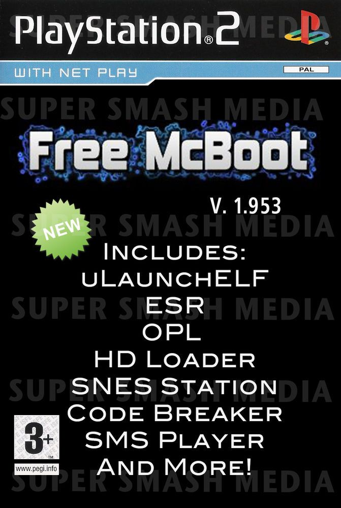 Details about Free MCBoot 1 966 PS2 8MB Memory Card