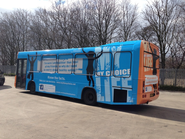 Our branded bus