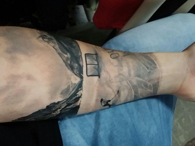 Amazing hockey tattoo                                                       …