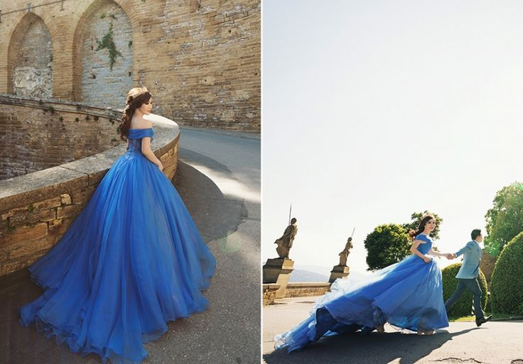 Wow-ee! Reallife Cinderella gown!