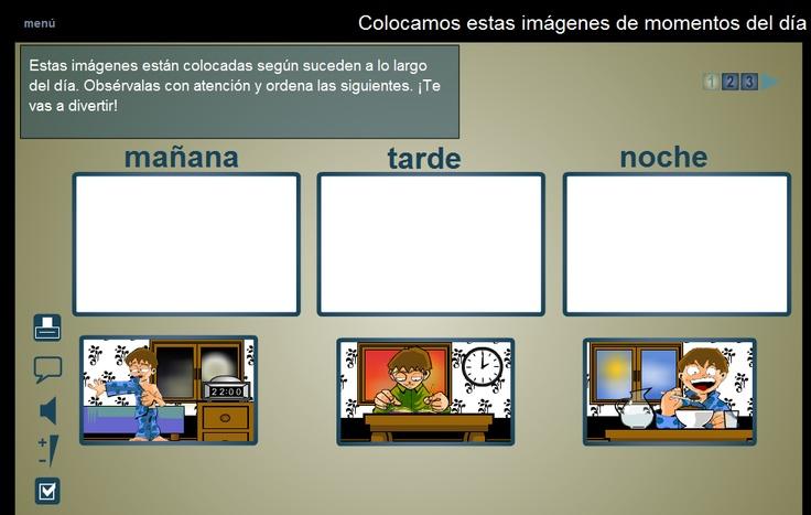 Material de Isaac para Educacion Especial: SECUENCIAS TEMPORALES