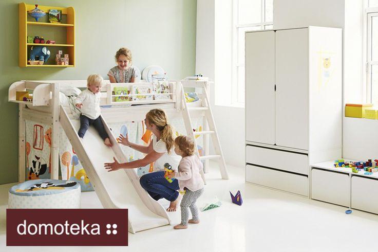 Bezpieczeństwo, funkcjonalność i dobry design - takie są cechy mebli dziecięcych Flexa.
