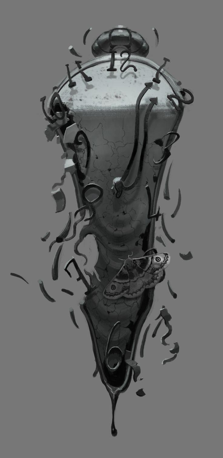 Image result for melting clocks