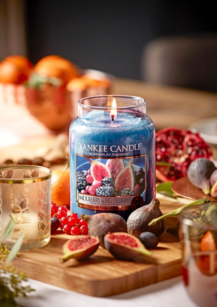 Mulberry & Fig Delight jedině do Yankee Candle