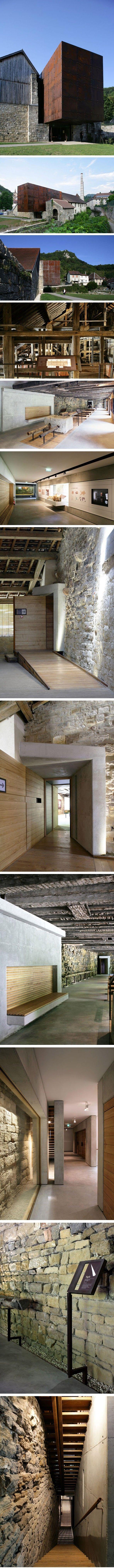 Musée du sel de Salins les bains / Malcotti-Roussey et Gheza