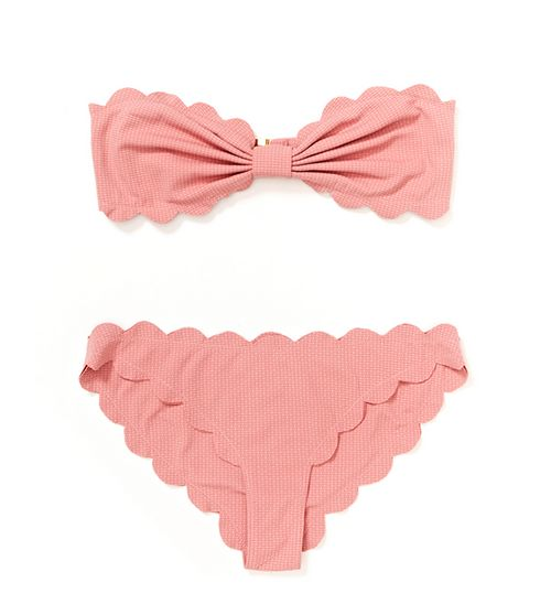 The cutest scalloped bikini!