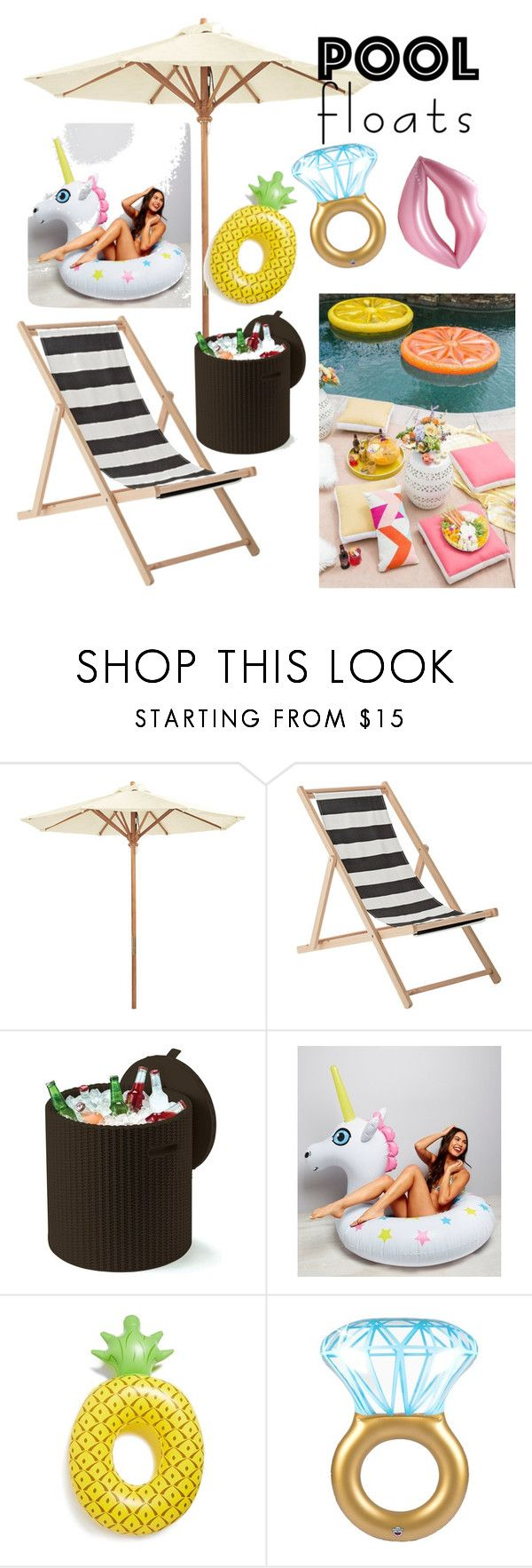 """Untitled #125"" by putrinaini on Polyvore featuring interior, interiors, interior design, home, home decor, interior decorating, Ballard Designs, Bloomingville, Keter and New Look"