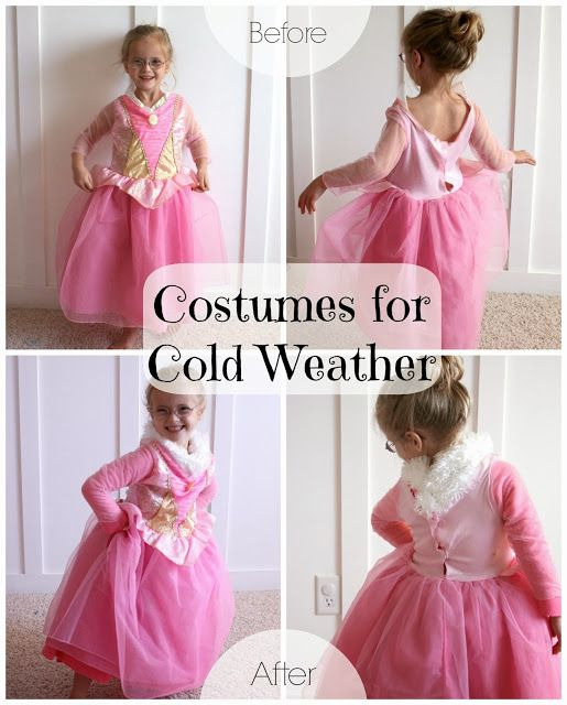 Winterizing Halloween Costumes