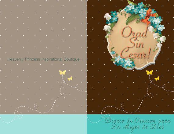Orad Sin Cesar Diario de Oracion by HeavenlyPrincessbout on Etsy
