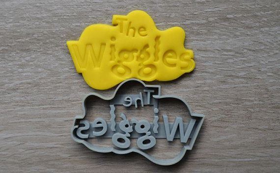 Wiggles Logo Cookie/Fondant Cutter inspired by The Wiggles. This item is 3D…
