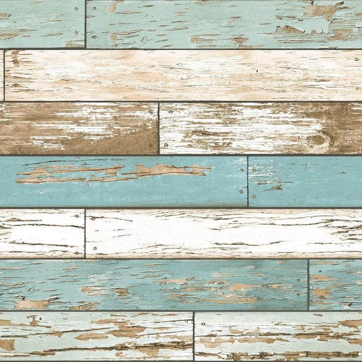 Rustic Wood Clad Blue