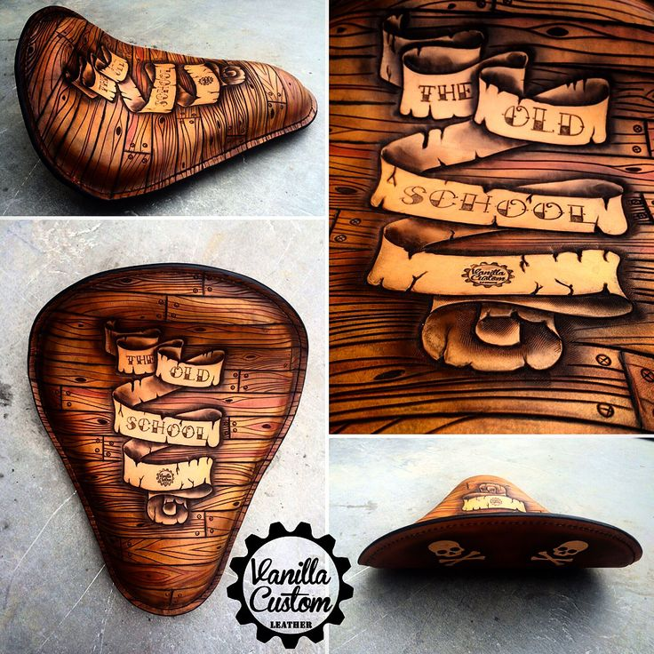Vanilla Custom Leather #vanillacustom #vanillacustomleather #vcl #gdansk  #harley #bobber #seat