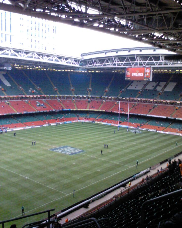 Sleeperz Hotels is next door to the Millennium Stadium in Cardiff - where England and Wales showdown in the 2013 RBS 6-Nations decider this weekend