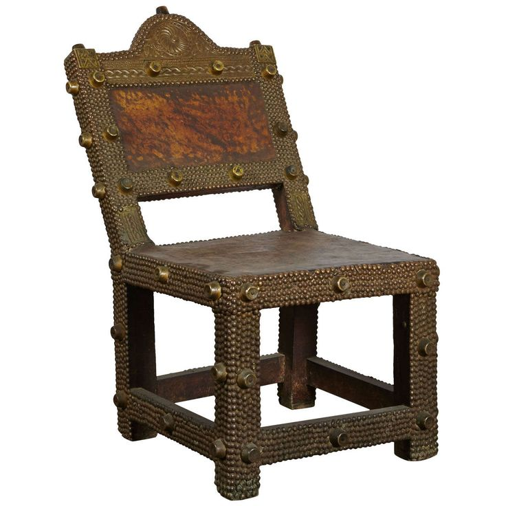 Great Ashanti King's Chair | See more antique and modern Chairs at https://www.1stdibs.com/furniture/seating/chairs