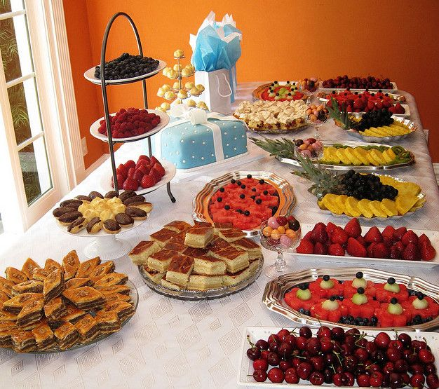 Wedding Finger Food Buffet: Bridal Shower Menu Ideas Finger