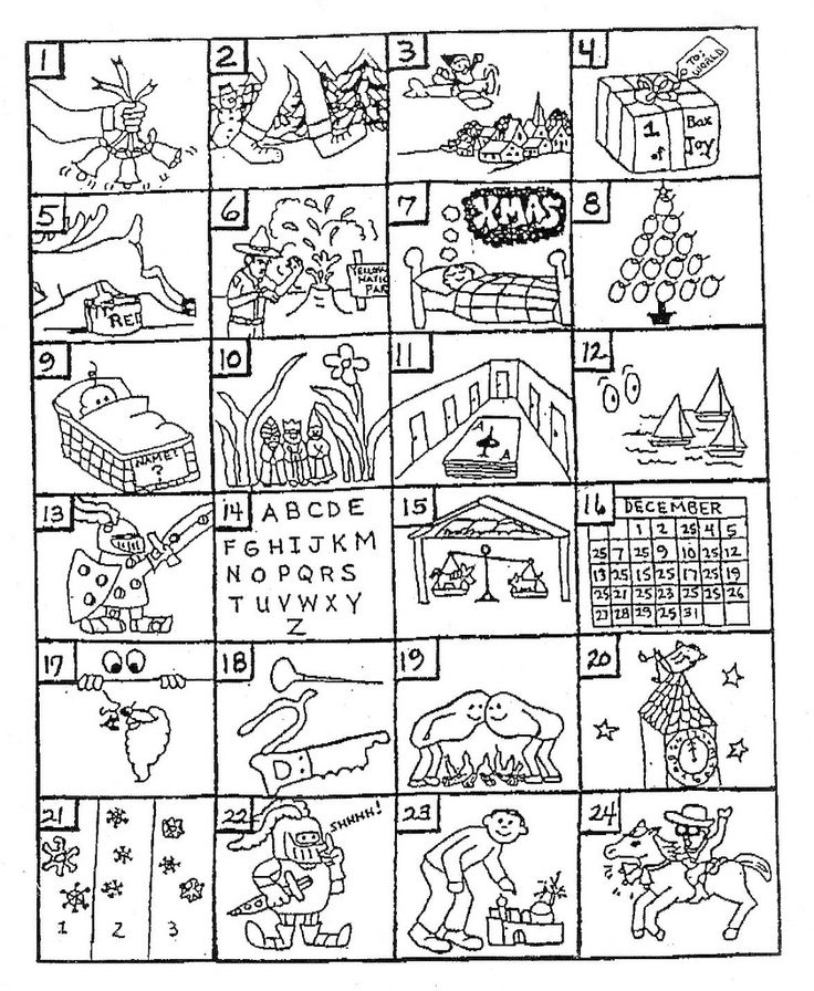 Guess the Christmas Song. I love these!!!!