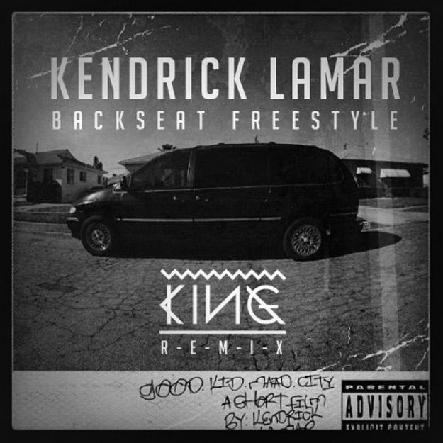 """Goddamn I got bitches. Damn I got bitches. Damn I got bitches: wifey, girlfriend, and mistress."" -Backseat Freestyle by Kendrick Lamar"