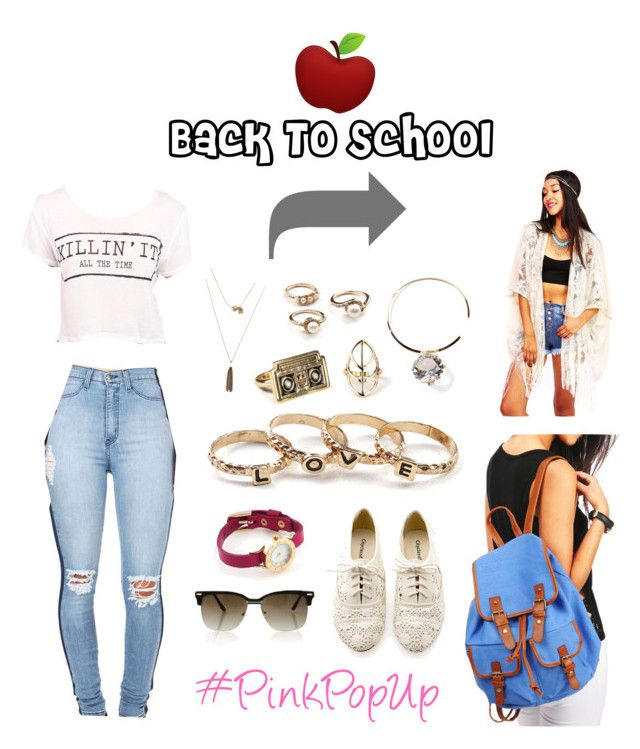Ft. PinkIce - #PinkPopUp by creaturesoftweed on Polyvore featuring polyvore fashion style clothing