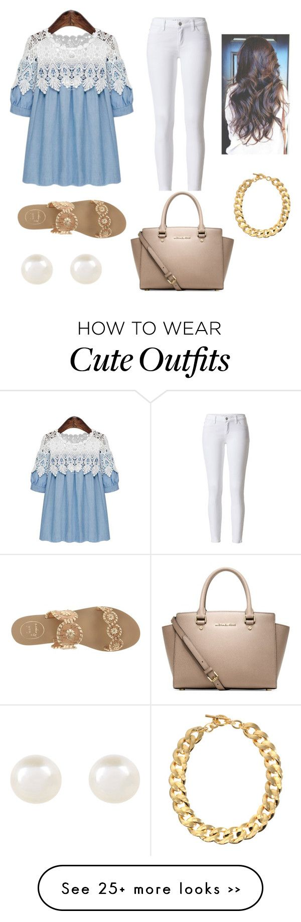 """My style of a cute school outfit"" by mgbroadwater on Polyvore"