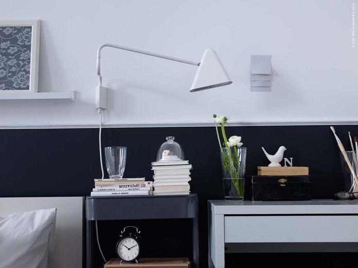 bänk ikea ps ~ bestÅ tvbänk med lådor, svartbrun, selsviken högglans