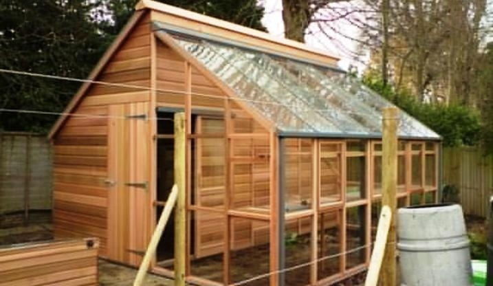Love The Shed Greenhouse Combo Garden Ideas Pinterest