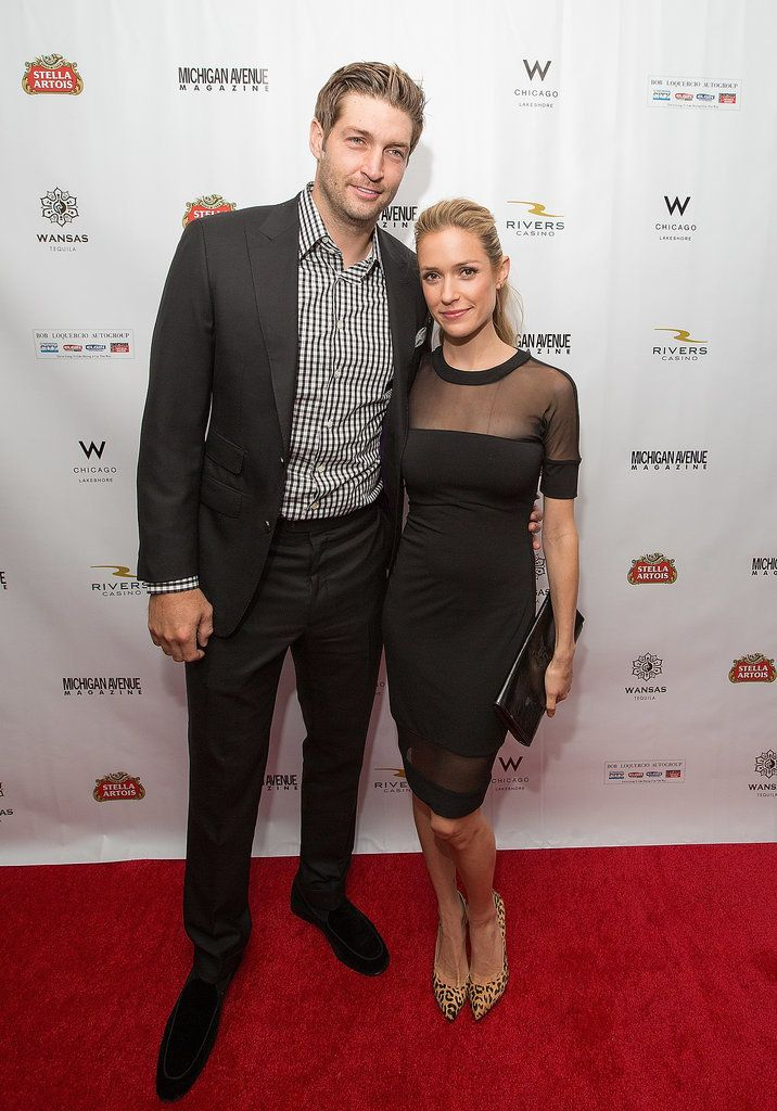 On Tuesday, Kristin Cavallari and Jay Cutler walked the red carpet at Michigan Avenue Magazine's Fall fashion issue celebration in Chicago.