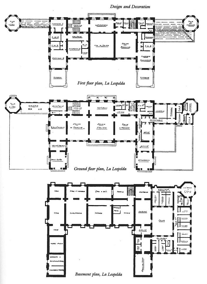 Arreton Manor Floorplan House Plans