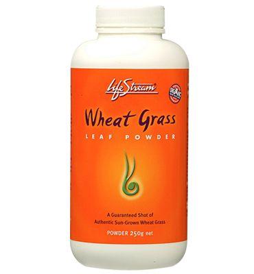 Wheat Grass Powder – Lifestream - 250g   Shop New Zealand