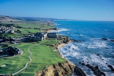 Plan Your Perfect Weekend in California's Half Moon Bay: Half Moon Bay from the Air