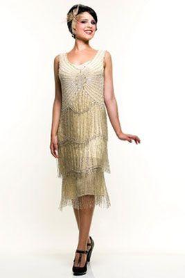 Платье флэппер