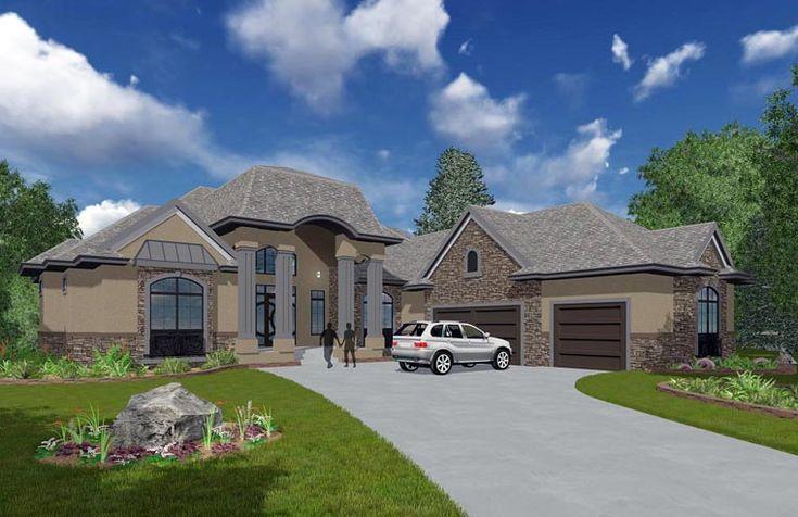 Bungalow Elevation Of Plan 81155 Dream Home Plans