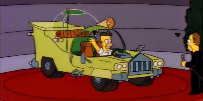 Homer Simpson once designed a spectacularly bad car...or was it just ahead of its time?