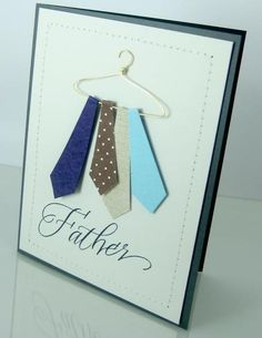 father's day card - bjl