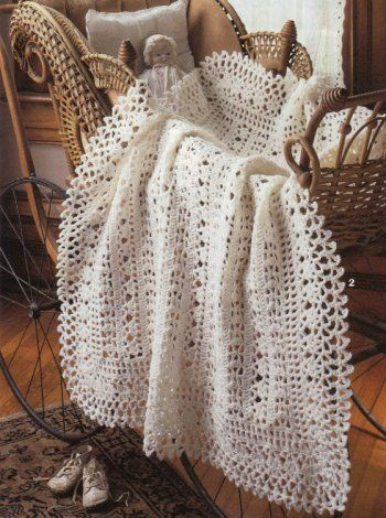 Crochet Vintage Baby Afghan Patterns - Crochet 12 Baby Afghan