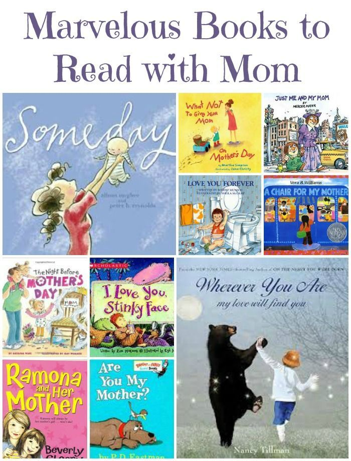 Great Books for Mother's Day -- the perfect book to read (or give to) Mom or Grandma!  Plus more fun DIY gift ideas for Mother's Day