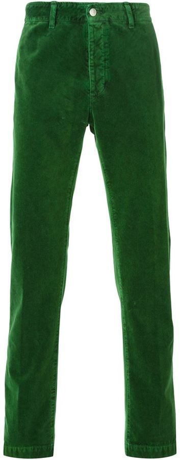 €170, Pantalon chino vert foncé Massimo Alba. De farfetch.com. Cliquez ici pour plus d'informations: https://lookastic.com/men/shop_items/329472/redirect