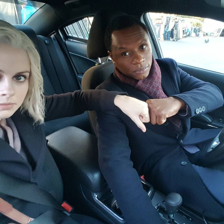 Rose McIver and Malcolm Goodwin