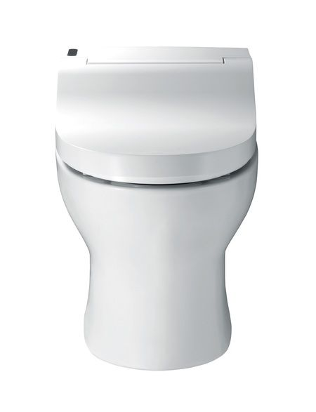 The all new Bio Bidet IB 835 Integrated Toilet System seamlessly joins a luxurious bidet seat with a toilet,