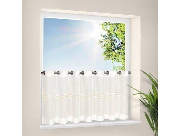 Bistrogardine Arau Mit Osen Kitchen Curtains Curtains Modern Window Design